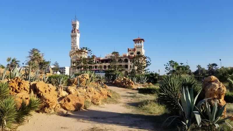エジプト・アレクサンドリア近郊にあるモンタザ宮殿