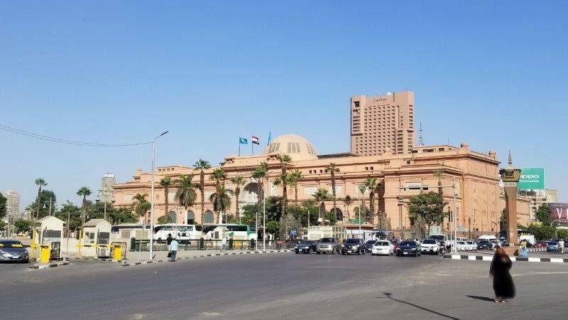カイロのエジプト考古学博物館