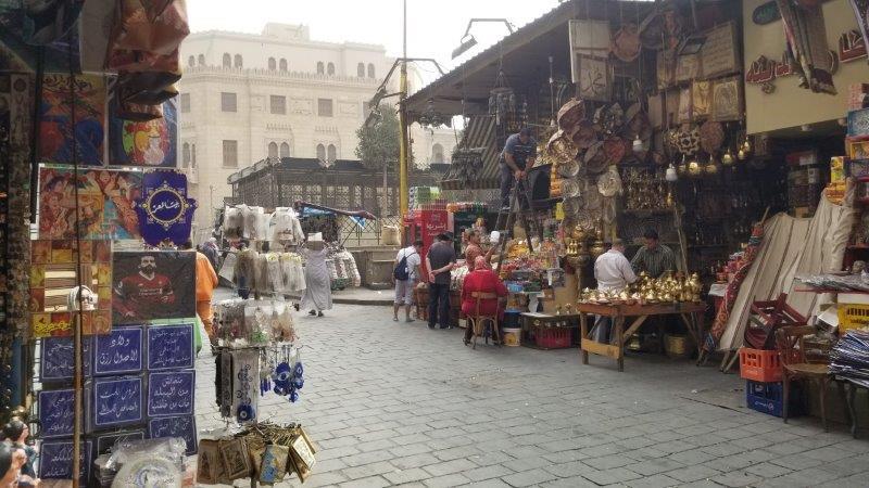 カイロのマーケット、ハーン・ハリーリ