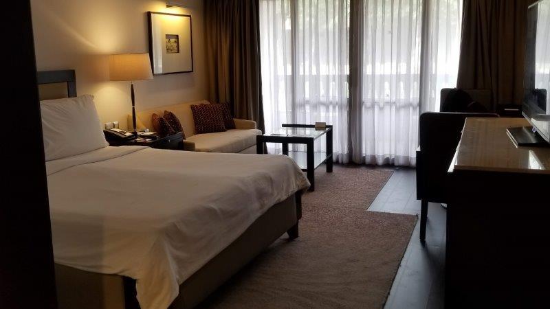 マリオット・メナ・ハウス・ホテルの寝室