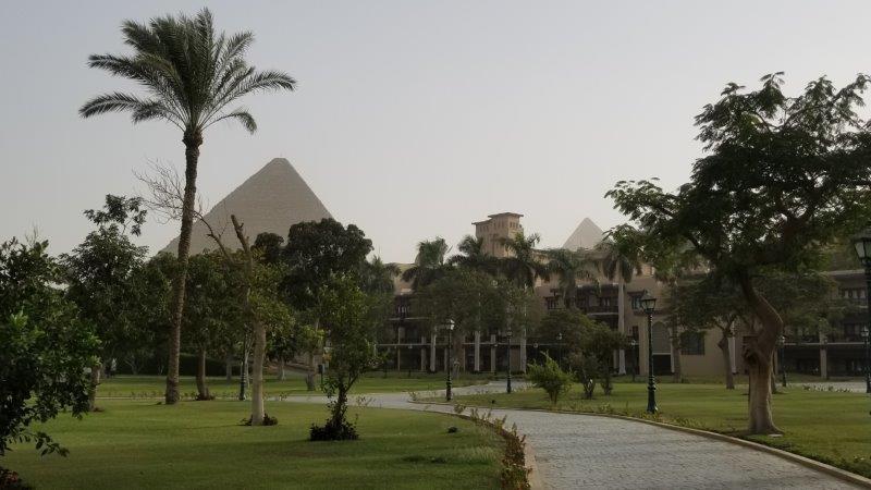 ギザのピラミットが見えるホテル、マリオット・メナ・ハウス