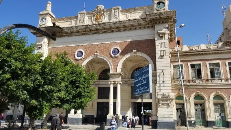 アレクサンドリアの中央駅、マスル駅