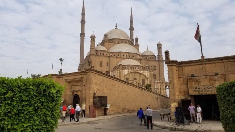 シタデル城壁内に建つ、ムハンマド・アリー・モスク