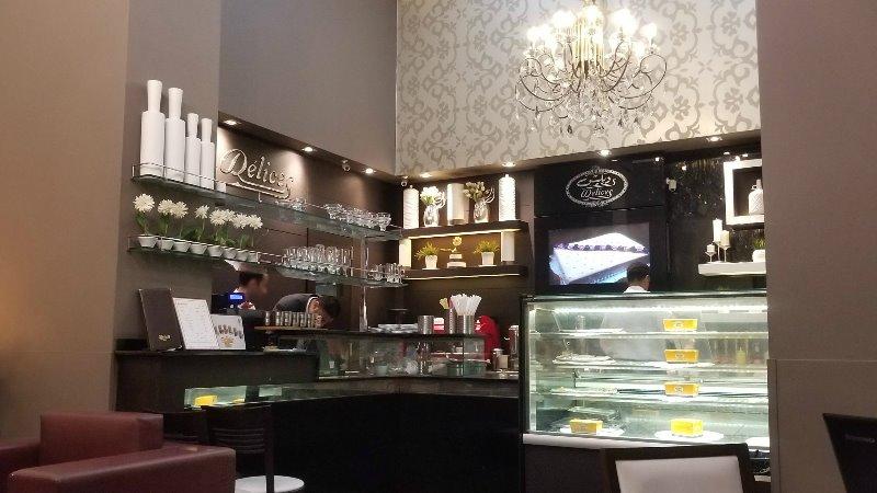 エジプト・アレクサンドリアのカフェ