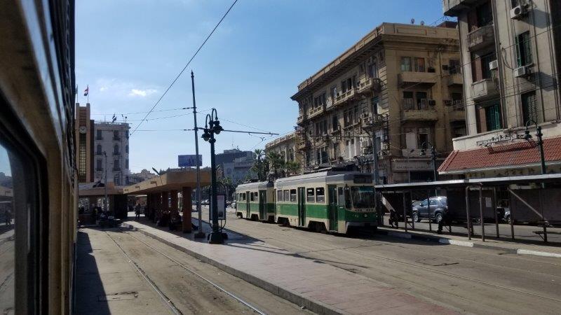 エジプト・アレクサンドリアの路面電車