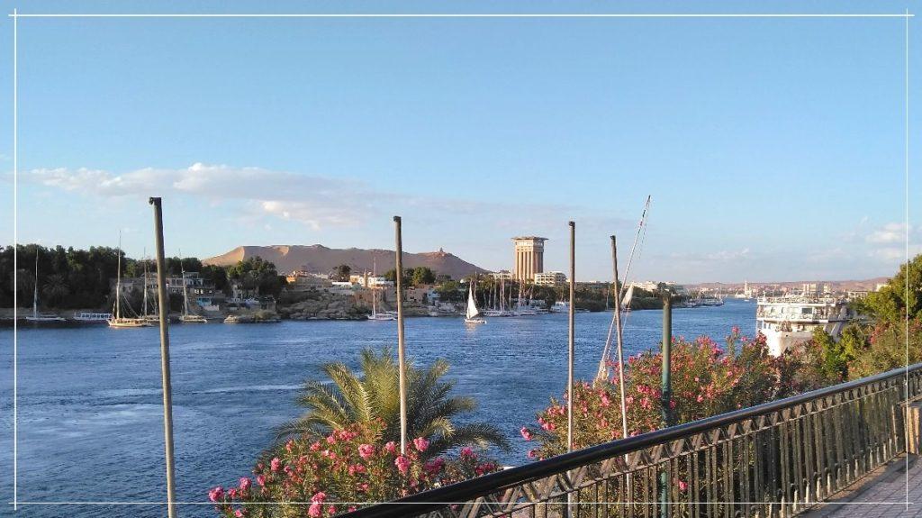 エジプト・アスワンとナイル川