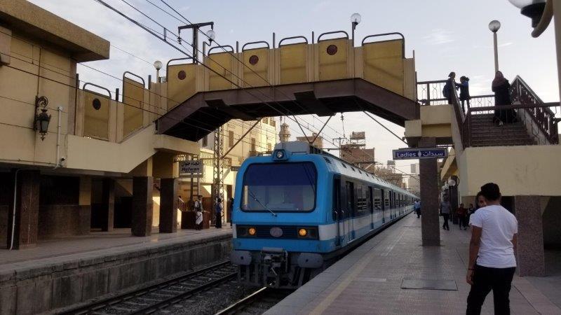 カイロの地下鉄メトロの駅