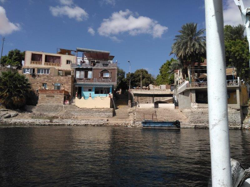 エレファンティネ島の船着場