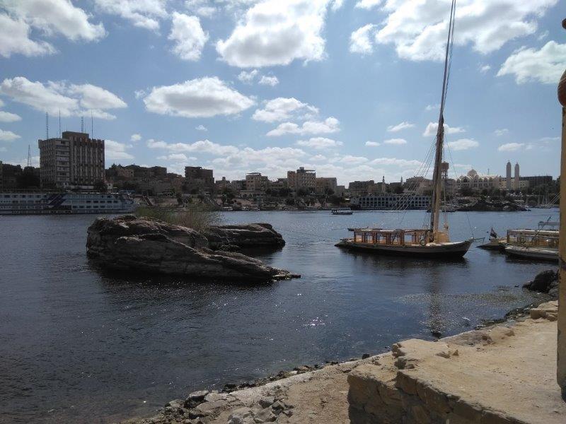 エレファンティネ島の船着き場