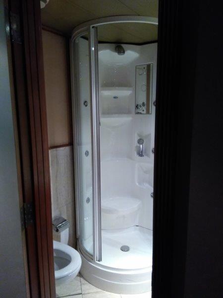 ナイル川クルーズ。バスルーム。