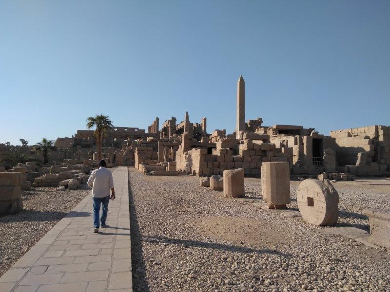 エジプト、ルクソールにあるカルナック神殿