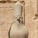 ホルス神殿のホルス神
