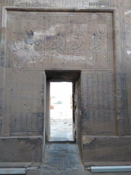 コム・オンボ神殿の内部