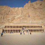 エジプト、ルクソールにあるハトシェプスト女王葬祭殿