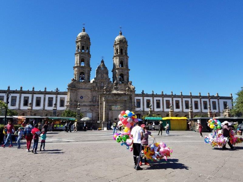メキシコ・グアダラハラの教会。サポパン大聖堂。