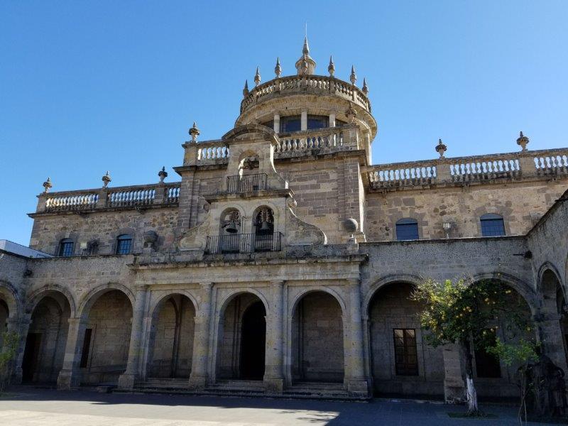 メキシコ・グアダラハラの世界遺産、オスピシオ・カバーニャス