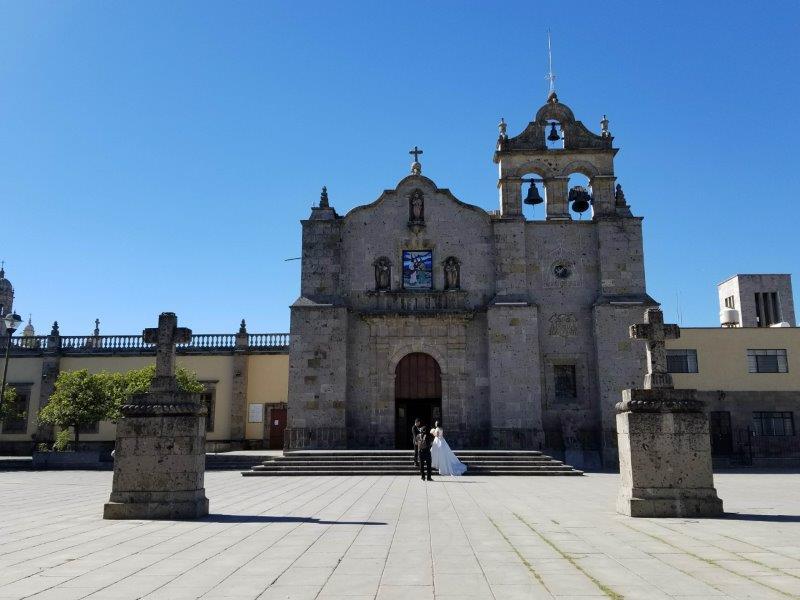 サポパン大聖堂そばのサンペドロ使徒教会
