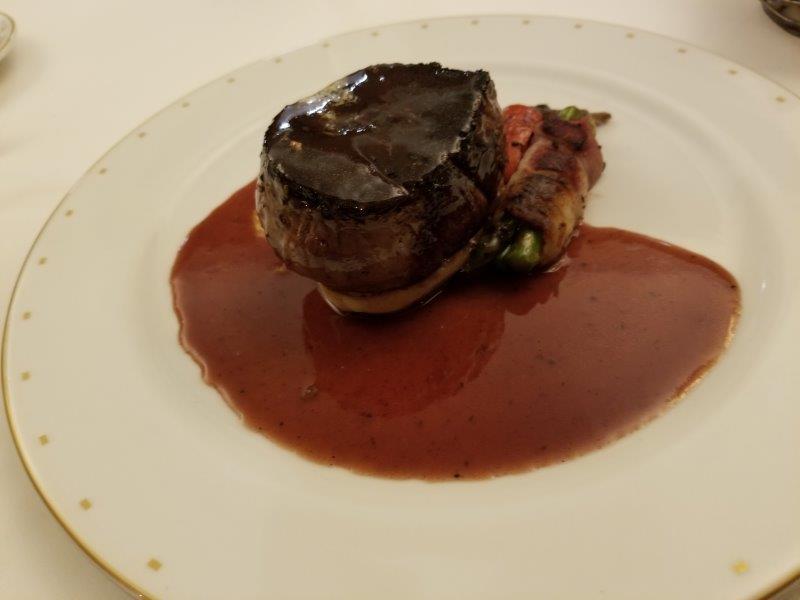 ハイアット・ジーヴァ・ロス・カボス。フランス料理のレストラン。