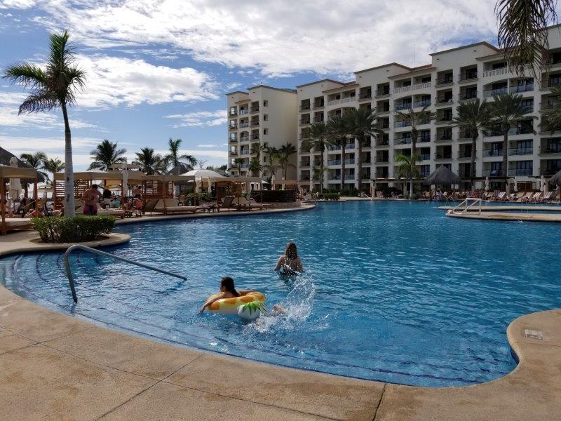 ハイアット・ジーヴァ・ロス・カボスの施設。キッズも楽しめるプール。