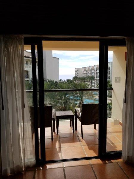 ハイアット・ジーヴァ・ロス・カボス。寝室からの眺め。