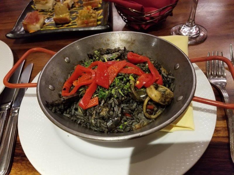 ハイアット・ジーヴァ・ロス・カボス。スペイン料理のレストラン。