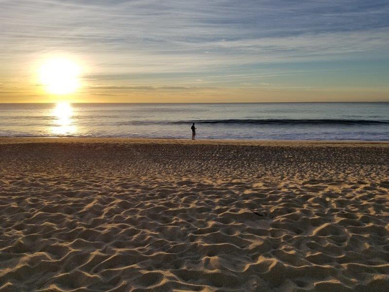 ハイアット・ジーヴァ・ロス・カボス。早朝のビーチ散歩。