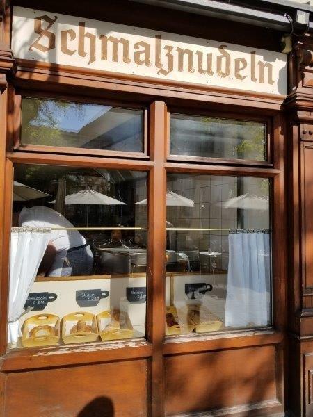 ミュンヘンのカフェ、フリッシュフート(Cafe Frischhut)。