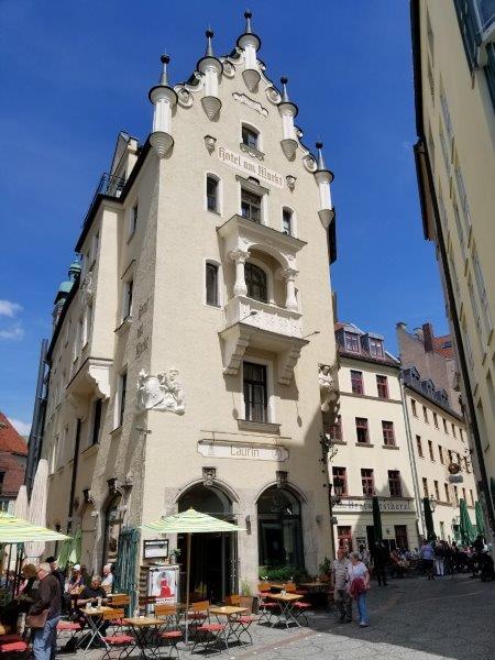 ミュンヘンの ヴィクトアリエンマルクトそばにある、ホテル・アム・マルクト。Hotel am Markt。