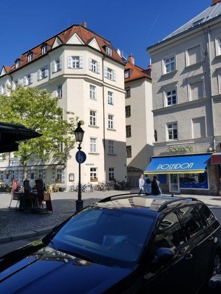ミュンヘンの中心部にある、ホテル・アム・マルクト。Hotel am Markt。車でのアクセス方法。