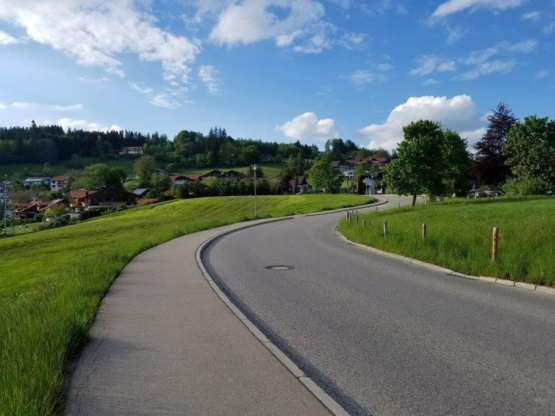 アルプス山麓、フュッセン郊外