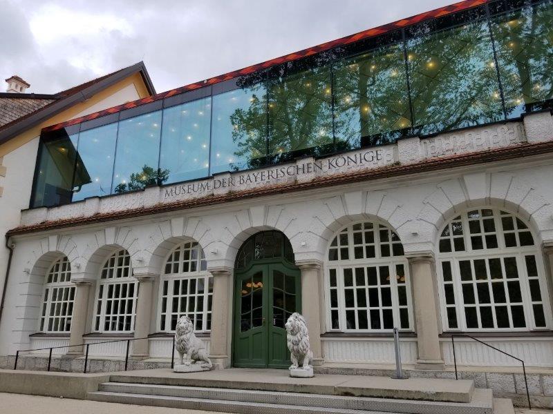 バイエルン王博物館入り口