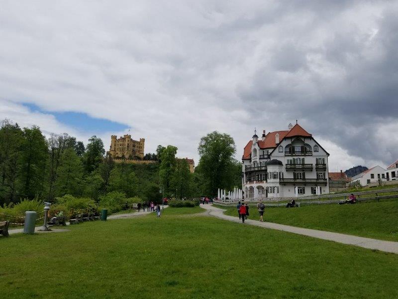 バイエルン王博物館とホーヘンシュヴァンガウ城