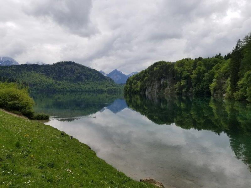 ホーヘンシュヴァンガウのアルプ湖