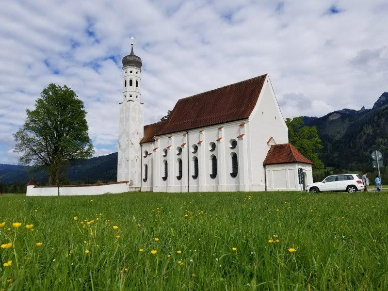 シュヴァンガウの聖コロマン教会