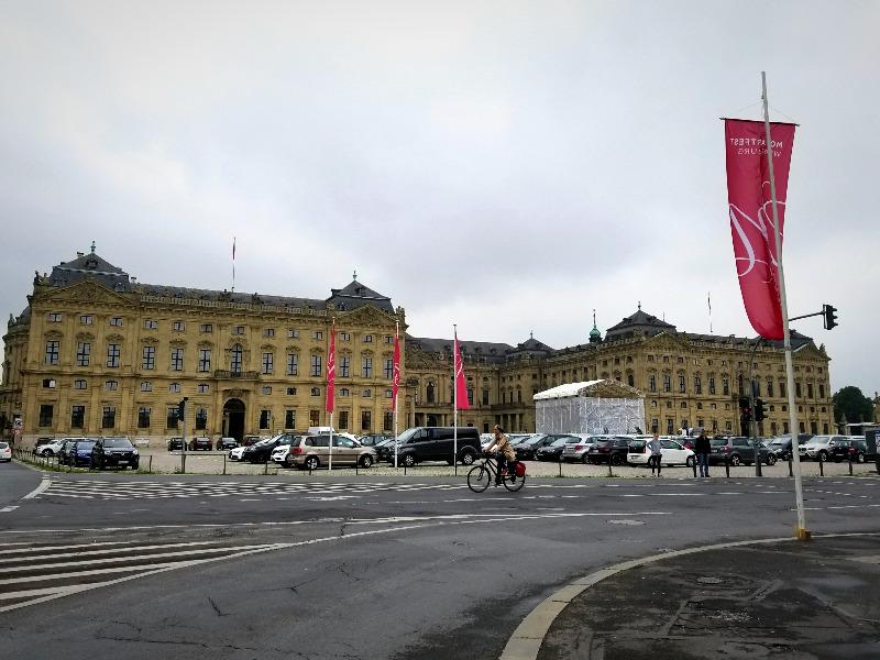 世界遺産、ヴュルツブルクのレジデンツ(司教宮殿)