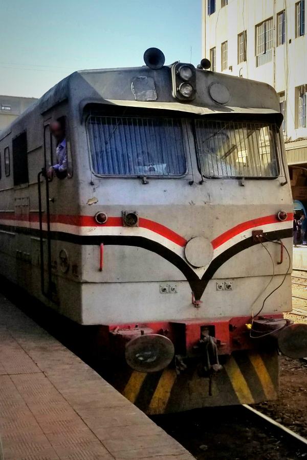 エジプト・鉄道の旅・国鉄