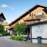 アルプスの麓、フュッセンのホテル。ノイシュバンシュタイン城から5分。