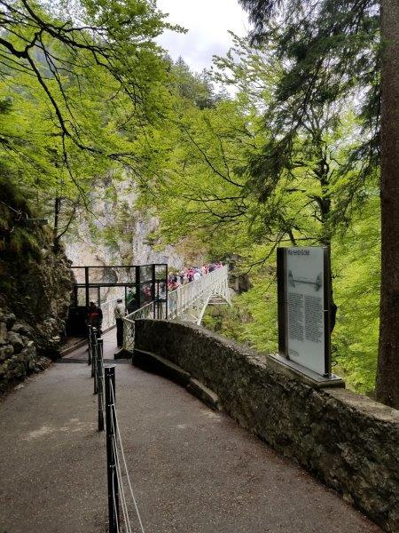ノイシュバンシュタイン城のインスタ映えスポット、マリエン橋