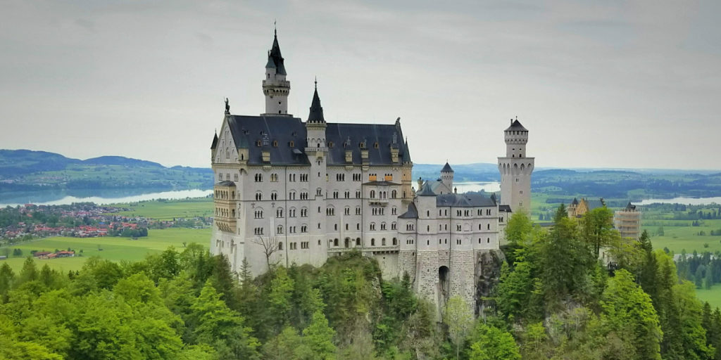 南ドイツ旅行ブログ。ノイシュバンシュタイン城。