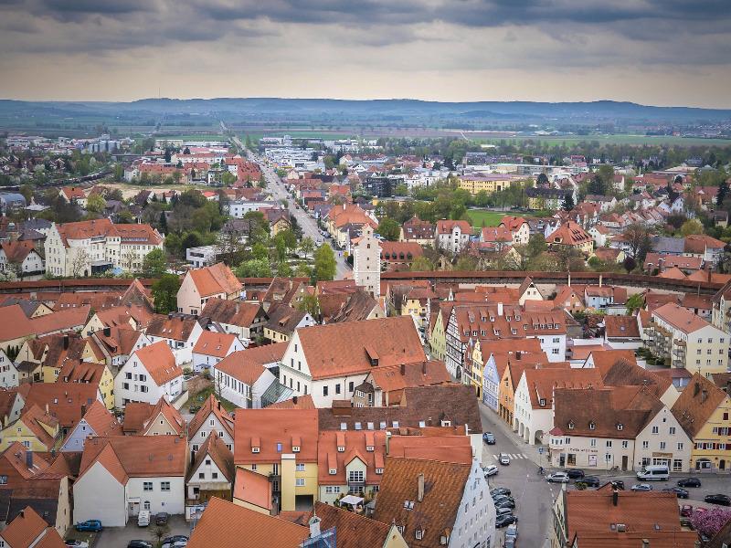 ネルトリンゲンの中世の街並