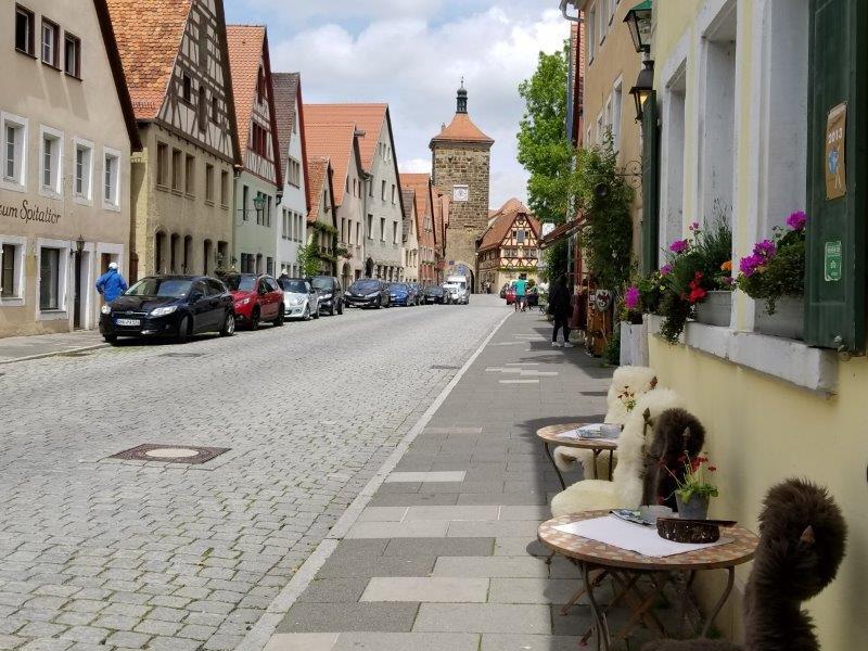 ドイツでドライブ。ロマンティック街道のローテンブルク。
