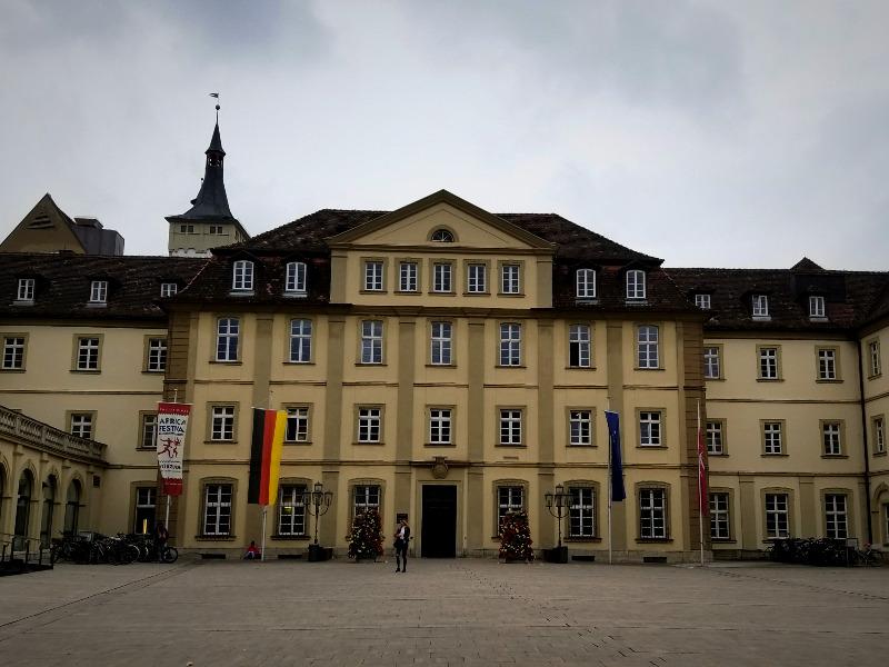 ヴュルツブルクの市庁舎