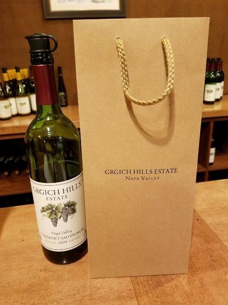 ナパのワイナリー、ガーギッチ・ヒルズ・エステート(Grgich Hills Estate)。ワイン購入。