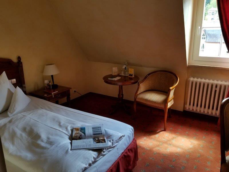 ロマンティック・ホテル・シュロス・ラインフェルス( Romantik Hotel Schloss Rheinfels)のインテリア。