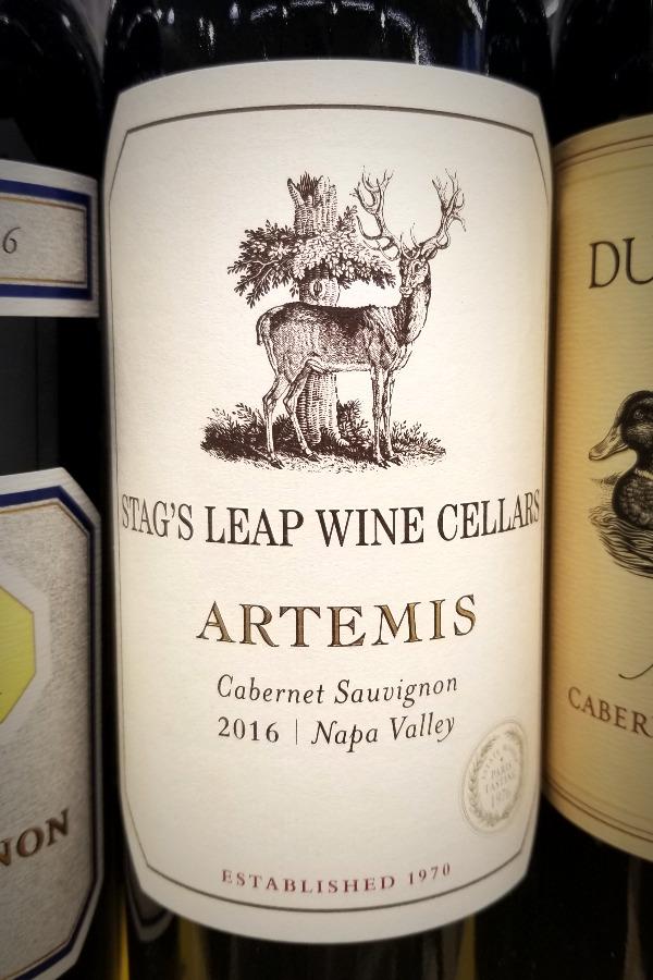 スタッグス・リープ・ワイン・セラーズ・アルテミス(Stag's Leap Wine Cellars)