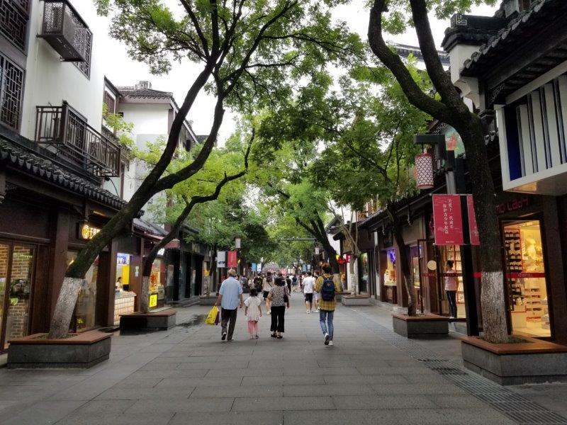 南京の夫子廟景区( 夫子庙步行街)