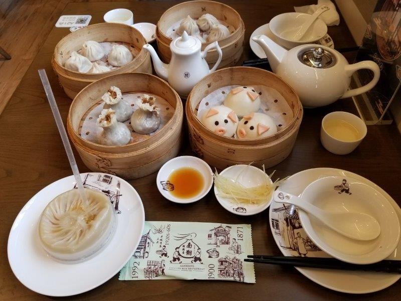 上海の豫園にある小籠包レストラン「南翔饅頭店」本店。