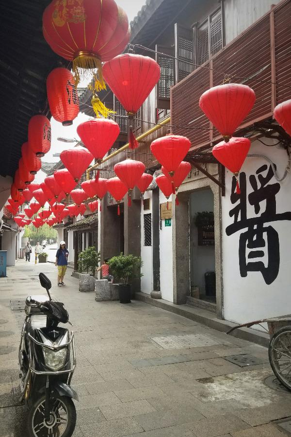 上海観光・中国の古い街並み「七宝老街」