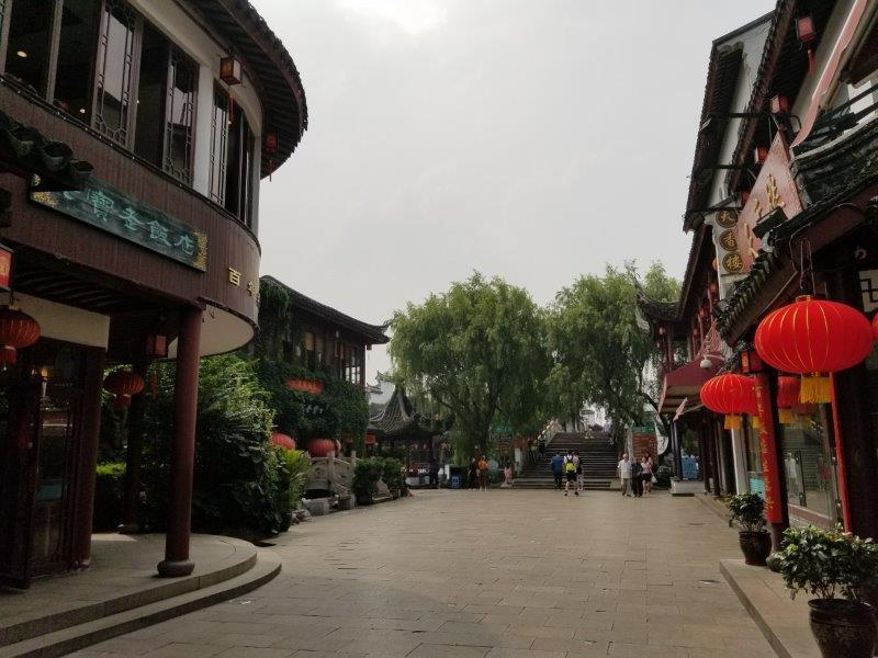 上海近郊の観光名所、七宝老街