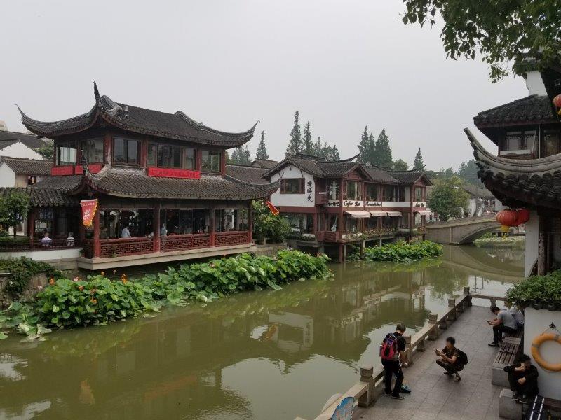 上海観光・美しい水郷「七宝老街」